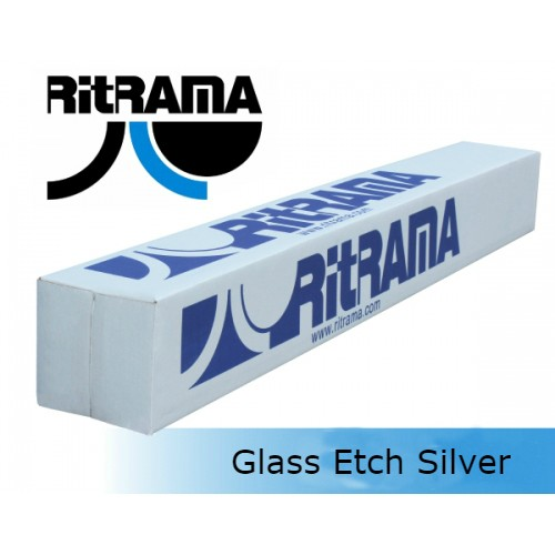 Glass Etch Silver (PTAS Dark) 1,52x50m Ri-MARK Ritrama